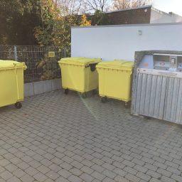 neue Gelbe Tonnen
