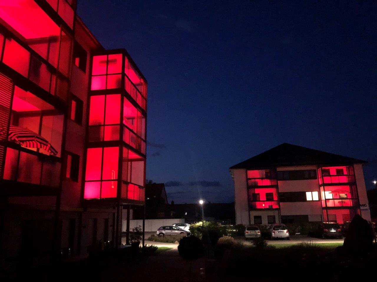 Night of Light bei der WWG